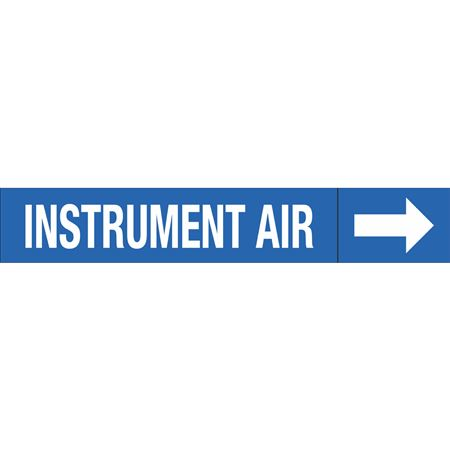 Roll Style Pipe Markers - INSTRUMENT AIR