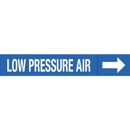 Roll Style Pipe Markers - LOW PRESSURE AIR