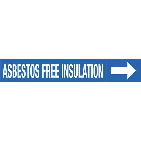 Roll Style Pipe Markers - ASBESTOS FREE INSULATION