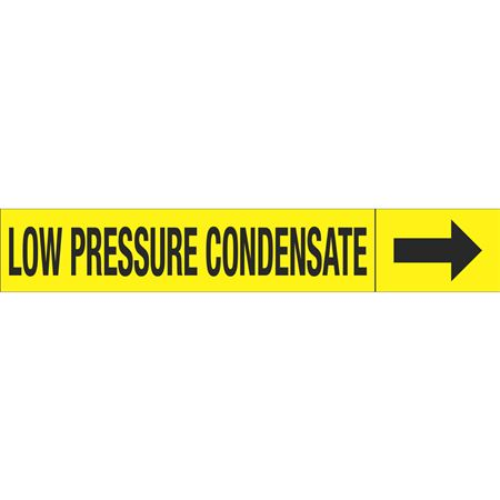 Roll Style Pipe Markers - LOW PRESSURE CONDENSATE