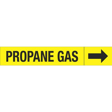 Roll Style Pipe Markers - PROPANE GAS