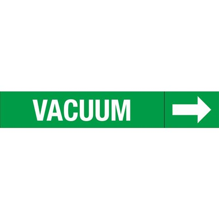 Roll Style Pipe Markers - VACUUM