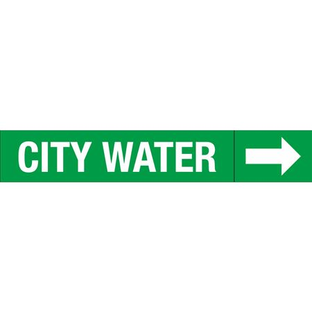 Roll Style Pipe Markers - CITY WATER