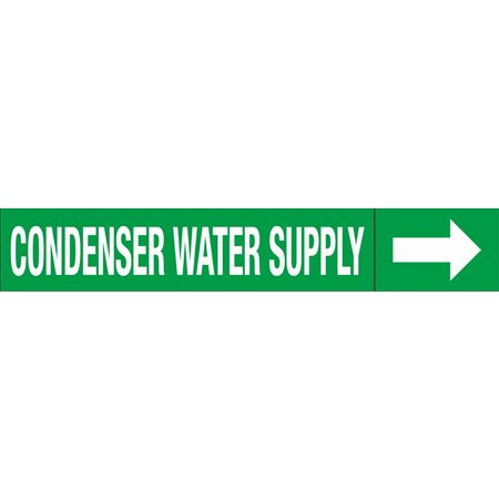 Roll Style Pipe Markers - CONDENSER WATER SUPPLY