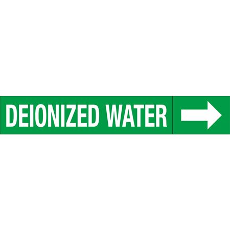 Roll Style Pipe Markers - DEIONIZED WATER