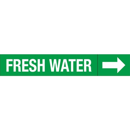 Roll Style Pipe Markers - FRESH WATER