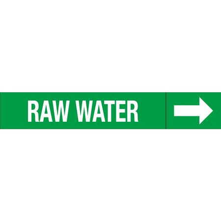 Roll Style Pipe Markers - RAW WATER