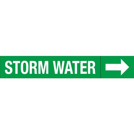 Roll Style Pipe Markers - STORM WATER