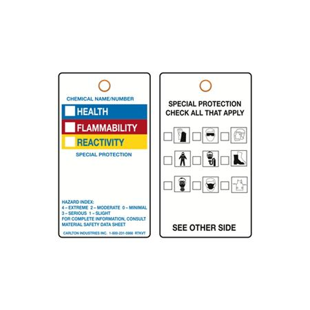 Two-Sided Compliance Tag - 3-1/8 X 5-5/8