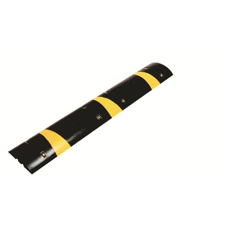 Rubber Speed Bumps w/Stripes & Eyes - 72 inches
