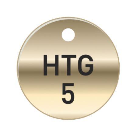 Brass Tags - HTG Heating