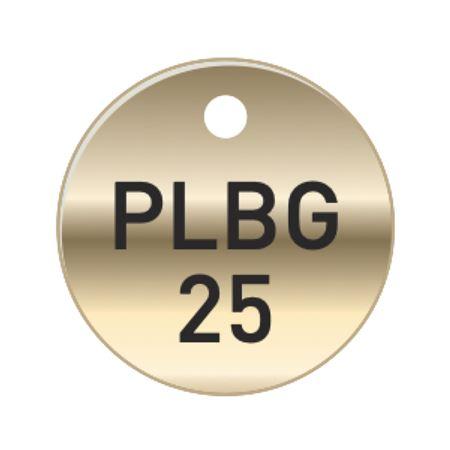 Brass Tags - PLBG Plumbing