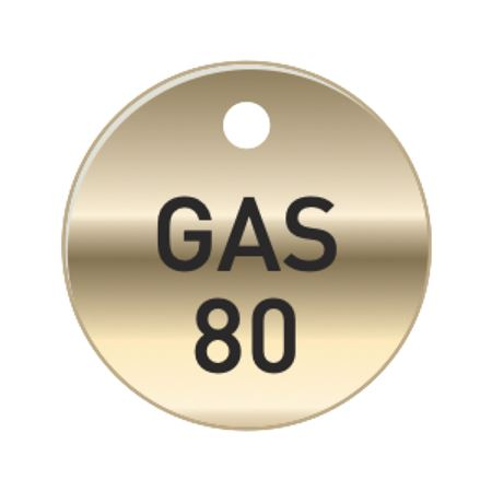 Brass Tags - GAS