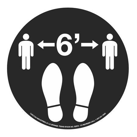 """Anti-Slip Floor Decals-6' Graphic -11"""" dia."""