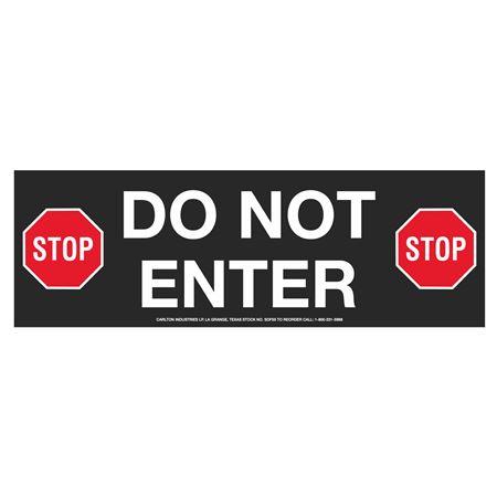 "Anti-Slip Floor Decals-Do Not Enter 4""X12"" (2/PK)"