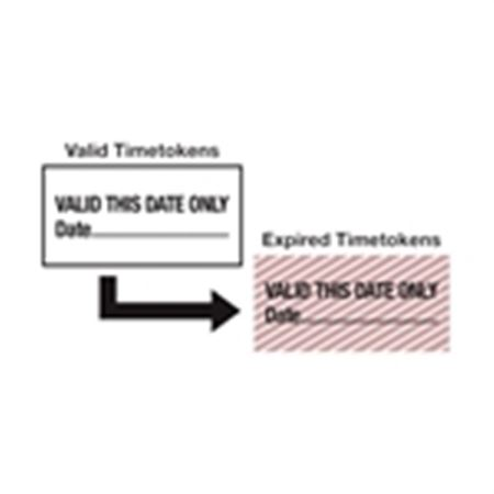Self-Expiring Timetokens - Self-Expiring Tokens - Valid This Date Only 2 x 1