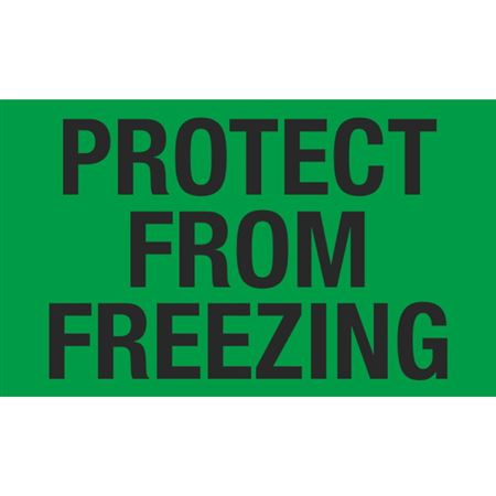 Protect From Freezing - 3x5 in