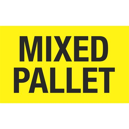 Mixed Pallet - 3x5 in