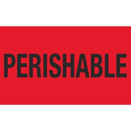 Perishable - 3x5 in
