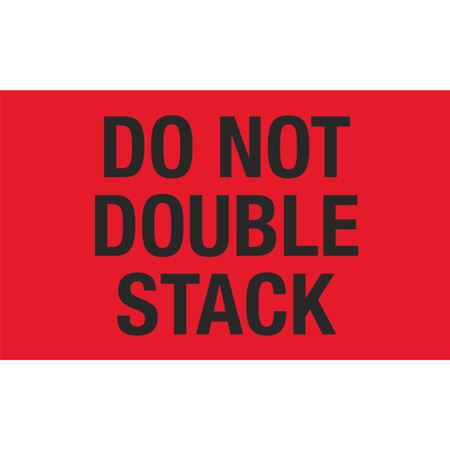 Special Handling Do Not Double Stack Labels 3x5