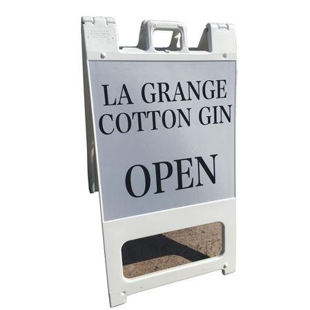 Custom Signcades - Large with Sandbag Slot 25 x 45 x 7