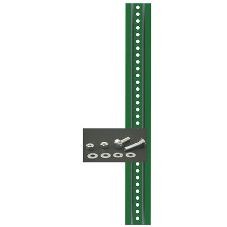 Sign Post and Mounting Kit - Green Enamel