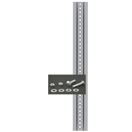 Sign Post and Mounting Kit - Galvanized Steel