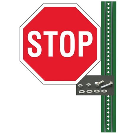 Stop Sign Post Kit