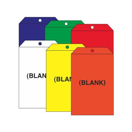 Blank Self Laminating Vinyl Tags 5 x 8