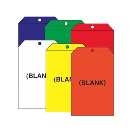 Blank Self Laminating Vinyl Tags 3.5 x 5