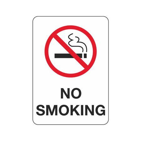 No Smoking - Polyethylene 7 x 10