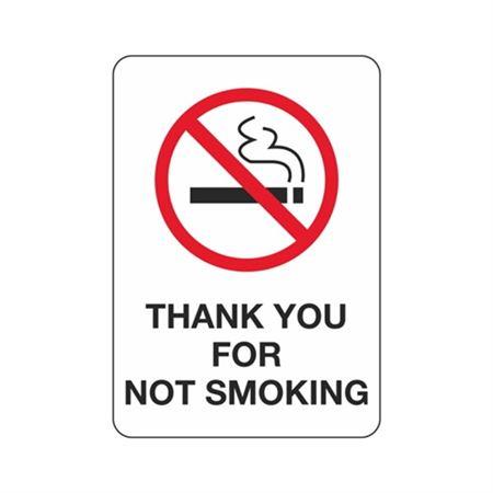 Thank You For Not Smoking - Polyethylene 7 x 10