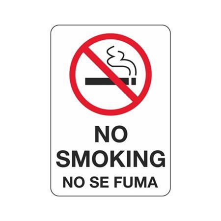 No Smoking No Se Fuma - Polyethylene 7 x 10