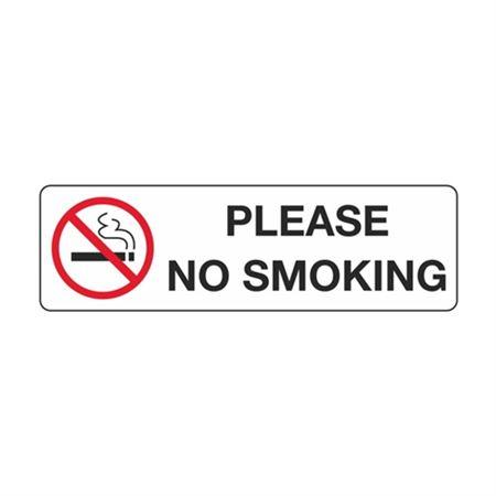 Please No Smoking - Polyethylene 3 x 10