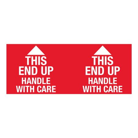This End Up Handle With Care - 4x10 in
