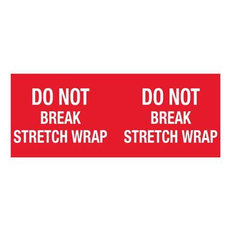 Do Not Break Stretch Wrap - 4x10 in
