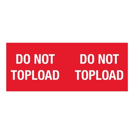 Do Not Topload - 4 x 10