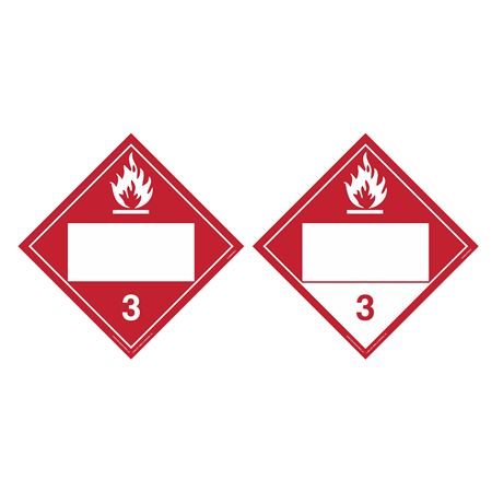 Duo-Flip - Flammable 3, Combustible 3, Blank