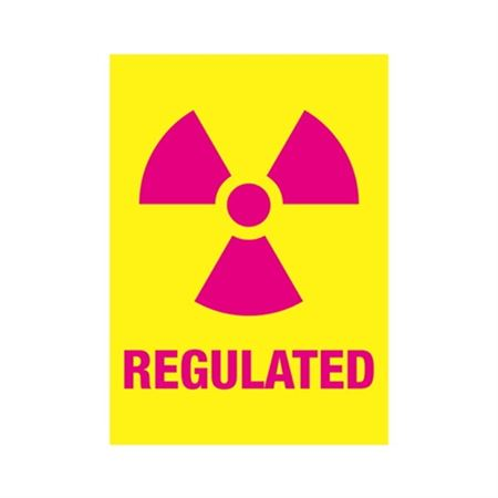 Regulated Sign