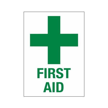 First Aid Sign - 10 x 14