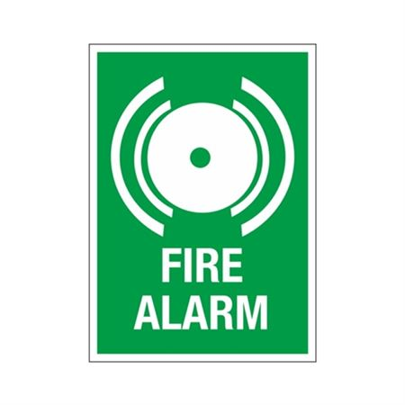 Fire Alarm Sign - Graphic