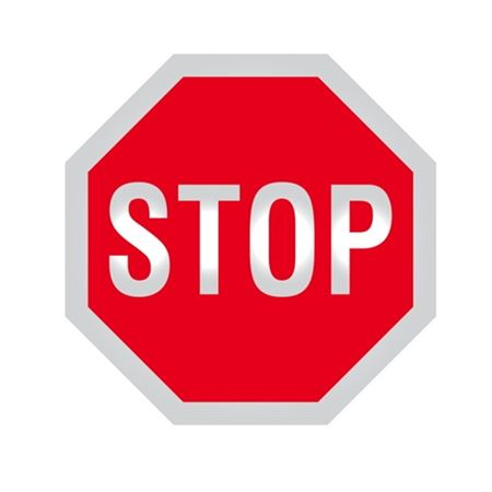 Standard Stop Sign
