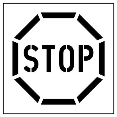 Stop Parking Stencil - 42 in. x 48 in.
