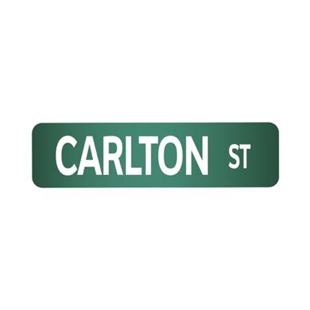 Custom Street Sign 6 Inch