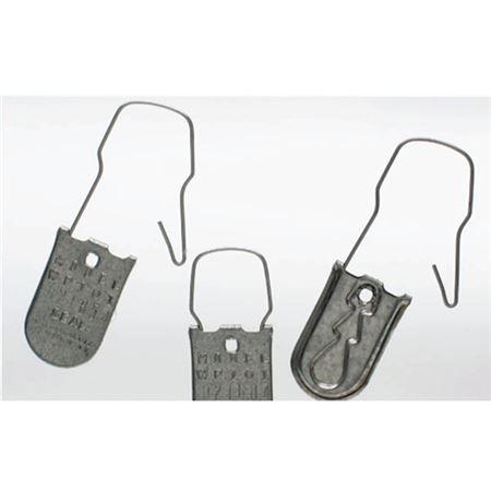 Aluminum Padlock Seal 3-1/4 inches x 1 inch