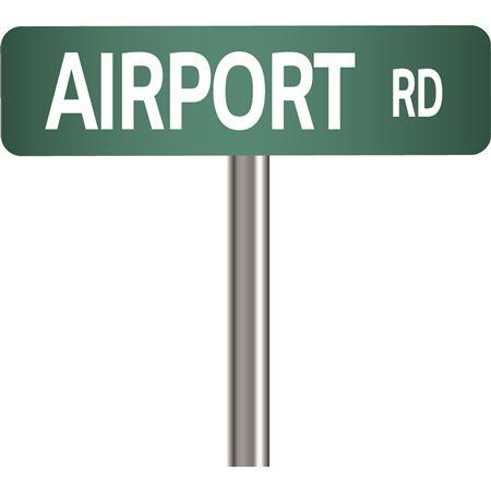 Custom Street Sign 9 Inch