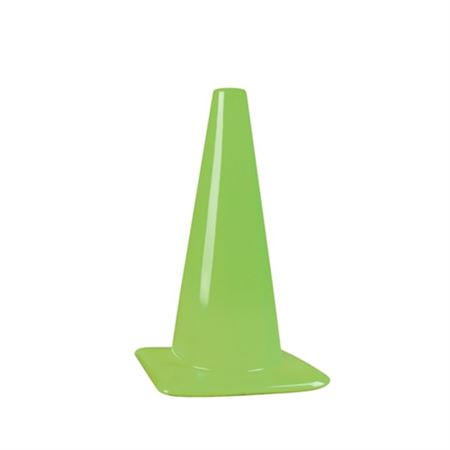 Fluorescent Green Cones - 18