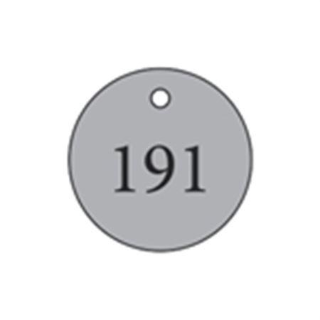 """Metal Tags - Blank 1 1/4"""" Diameter"""