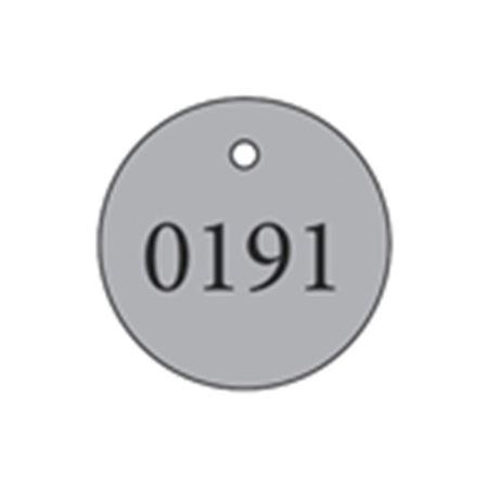 """Metal Tags - Blank 1 3/8"""" Diameter"""