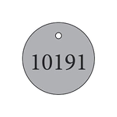 "Metal Tags - Blank 1 1/2"" Diameter"